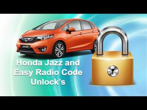 How To Find Honda Jazz Radio Code Using Serial Number