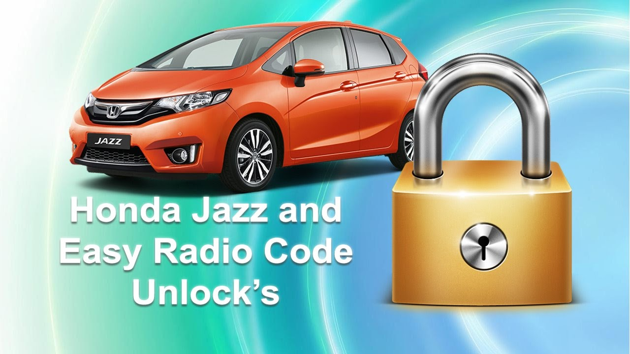 How To Find Honda Jazz Radio Code Using Serial Number Youtube
