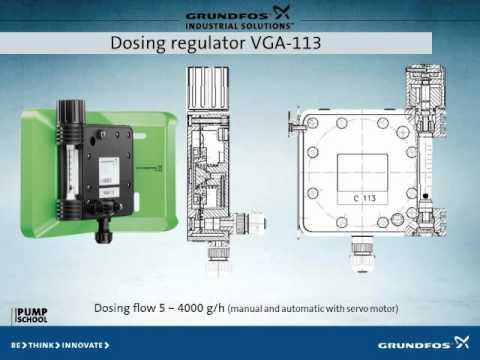 Grundfos chlorine gas dosing system