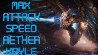 2.5 Attack Speed Aether Wing Kayle