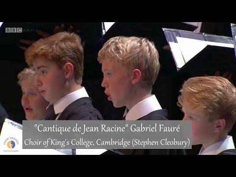 """Choir of King's College, Cambridge """"Cantique de Jean Racine"""" Gabriel Fauré (London 17.07.2016)"""