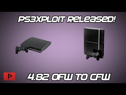 [News Update] Ps3Xploit Release - Upgrade From OFW 4.82 to CFW 4.82 Software Downgrade!