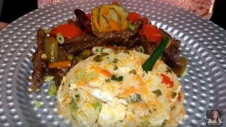 Beef Sizzler Cooking / Beef Sizzler with Chicken Fried Rice Cooking