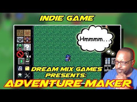 Indie Game: Adventure Maker: Runiya | Bonus Stream Night | First Impressions