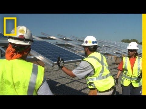 Toxic Land Generates Solar Energy | National Geographic