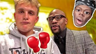 HEY KSI, MEET MY NEW TRAINER!! HIS NAME IS FLOYD!!