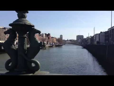 Morning coffee break in Dublin