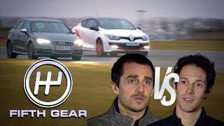 Prost vs Senna Hot-Hatch knockout - the FULL challenge | Fifth Gear