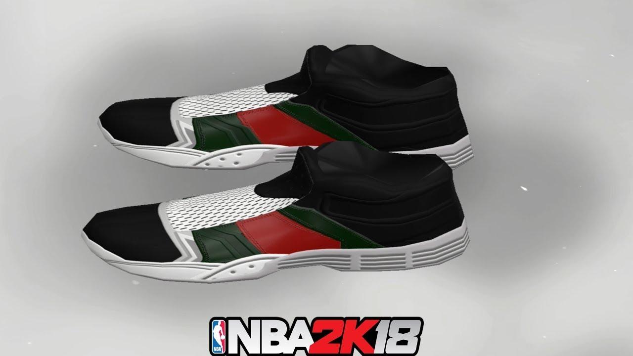 a229e12a0be0 NBA 2K18 Shoe Creator Gucci Flip Flops (WHT) ⋆ NBA2K18⋆ - YouTube