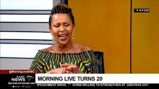 SABC's Morning Live turns 20 | Sindi Mabe