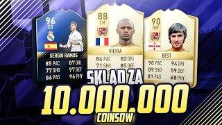 FIFA 17 skład za 10 MILIONÓW! Skład na Mistrzostwa Polski!