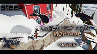 "Steep Extreme-Pack DLC - Freestyle Stunt Montage : ""Gone"""