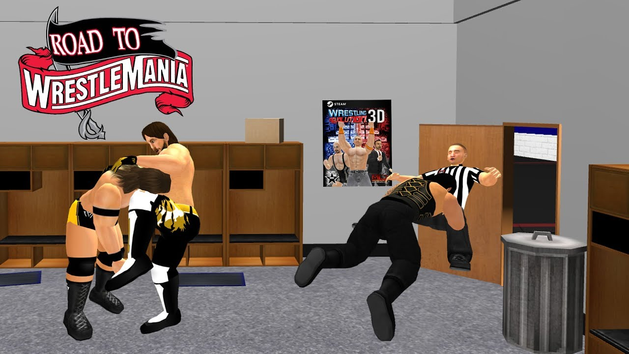 WR3D Road To WrestleMania Concept- WR3D 20 by HHH