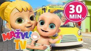 Vaikiškos dainelės 30 min. rinkinys - Mažylio TV