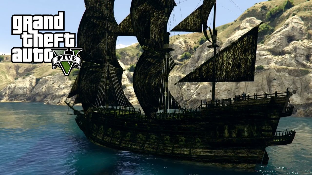 Pirates Of The Caribbean 5 Wallpapers Ship: PIRATES OF THE CARIBBEAN SHIPS!! (GTA 5 Mods)
