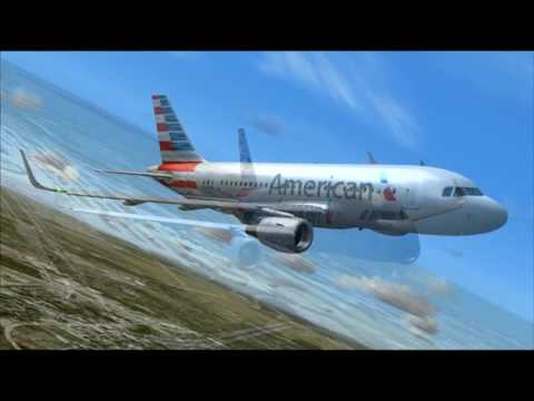 Aa552 A319 American Airlines Dallas Houston Youtube