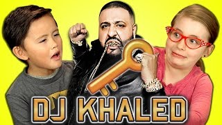 KIDS REACT TO DJ KHALED SNAPCHAT COMPILATION