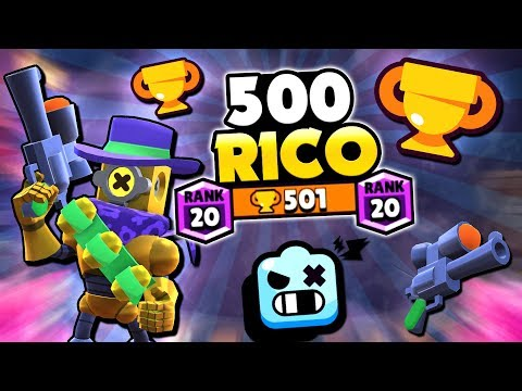 NEW BRAWLER 500 RICOCHET & BEST TIPS! | Brawl Stars | HIGH LEVEL RICOCHET GAMEPLAY!