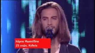 Χάρης Μωσαΐδης - One Republic - Apologize | The Voice of Greece - The Blind Auditions (S01E06)
