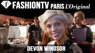 Victoria's Secret Fashion Show 2014-2015 BACKSTAGE: Devon Windsor Exclusive Interview | FashionTV