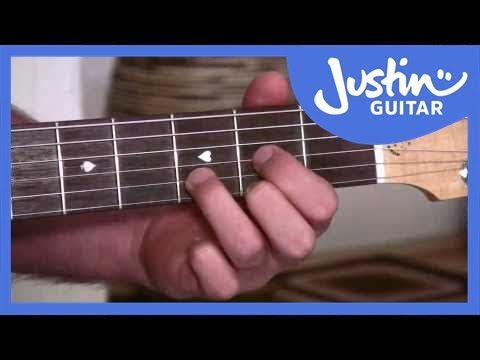The E Chord | JustinGuitar.com