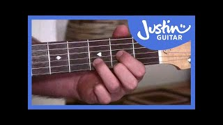 a d and e chords easy chord changes using anchor fingers beginner guitar lessons bc 114