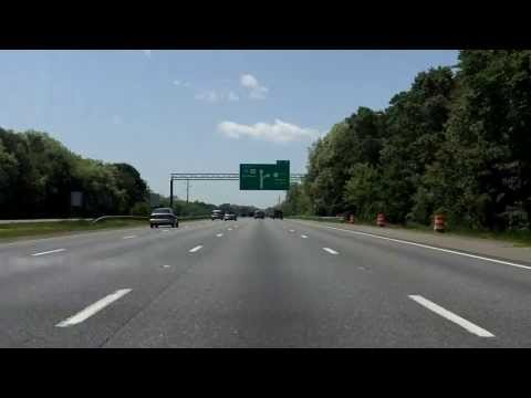 Interstate 95 - Massachusetts (Exits 47 to 45) southbound