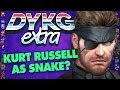 Snake Was Almost Voiced By Kurt Russell? - Did You Know Gaming extra Feat. Greg