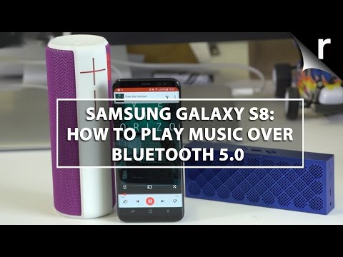 Samsung Galaxy S8: How to play music over Bluetooth 5.0