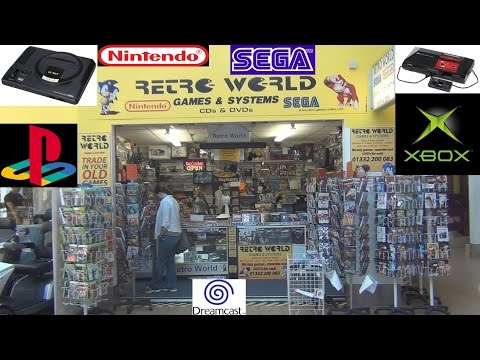 Retro World Game Store in UK (Pickups) - Adam Koralik