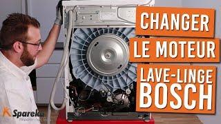 Comment changer le moteur de votre machine à laver BOSCH ?