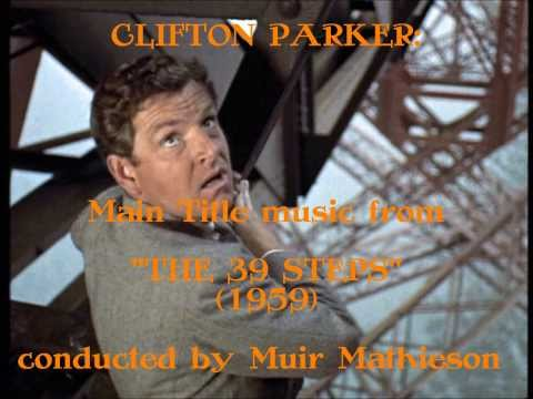 Clifton Parker: music from The 39 Steps 1959