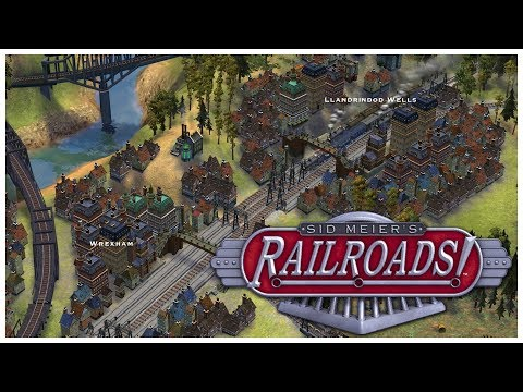Sid Meier's Railroads! - Real Routing - Let's Play / Gameplay / Beverage