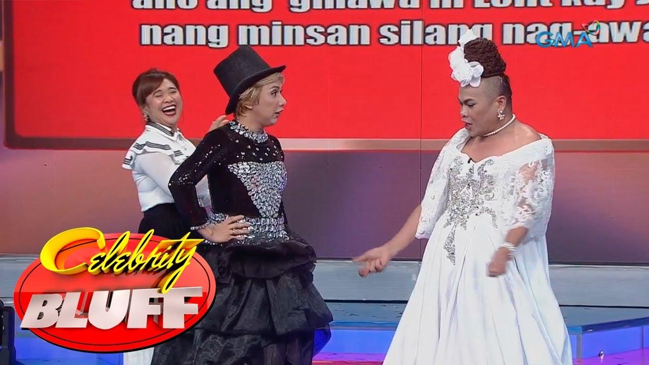 'Celebrity Bluff' Outtakes: Manay Tekla vs Donita de Leon