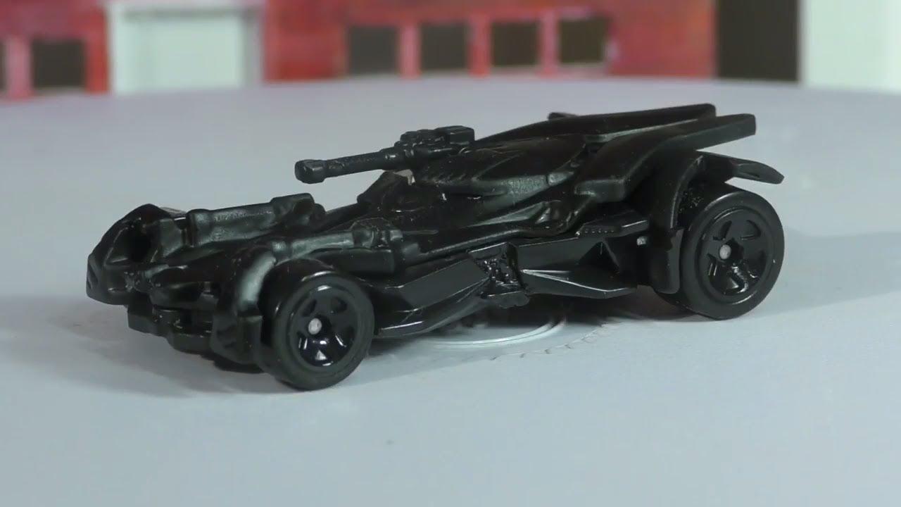 2018 Hot Wheels A Case 1 Justice League Batmobile New