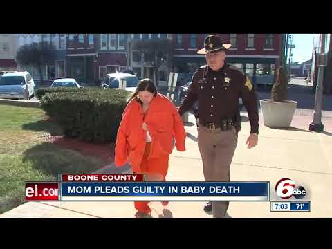 Boone County woman pleads guilty in baby death