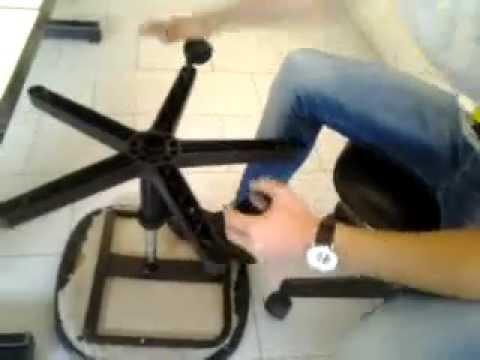 come smontare le rotelle di una sedia  YouTube