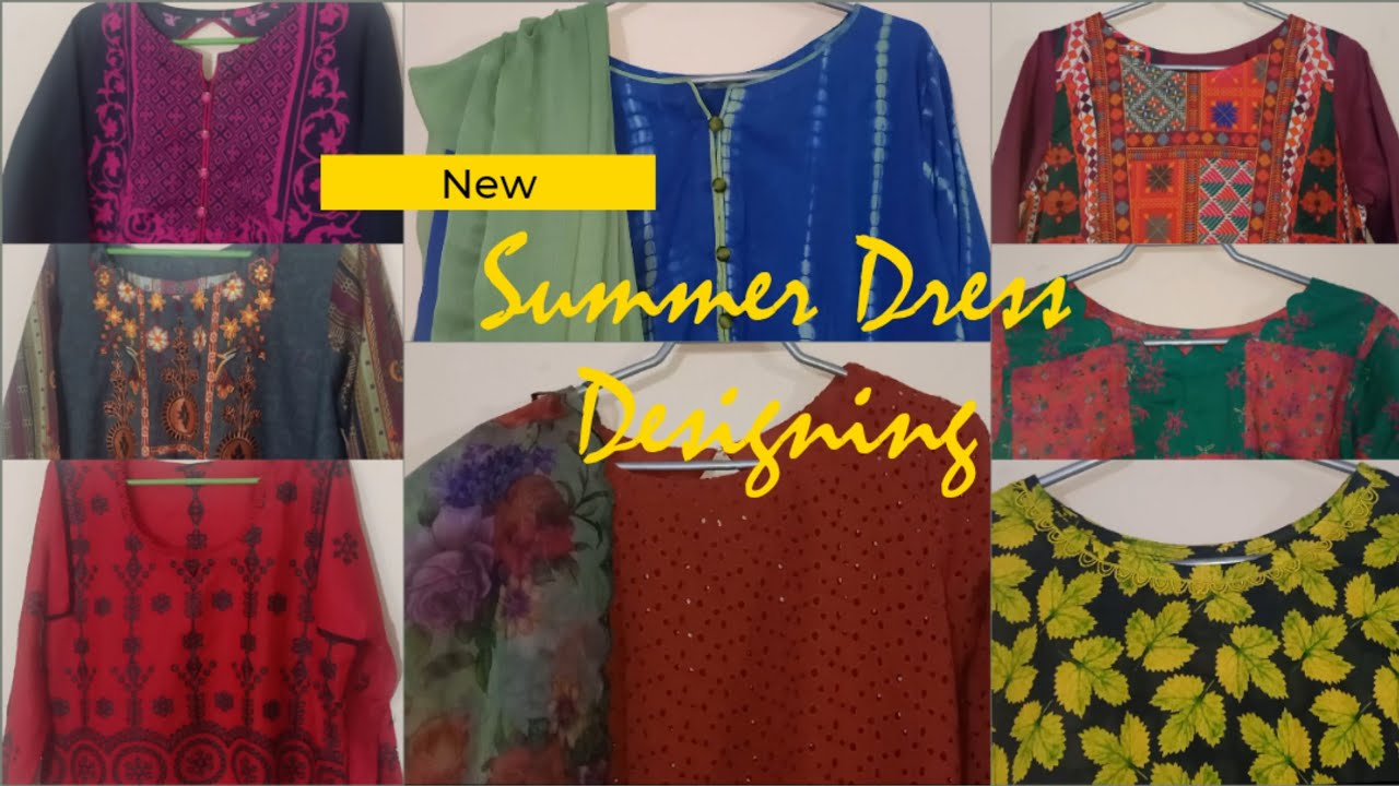 Summer Dress Designing || Simple Trendy Dresses
