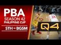 Semis Game 3: Star vs. Ginebra - Q4   PBA Philippine Cup 2016 - 2017