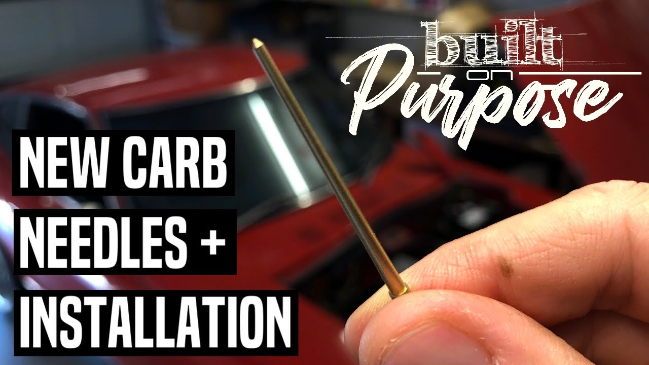 Datsun 240Z L28 stroker – Hitachi SU carb needle selection, installation  and road testing