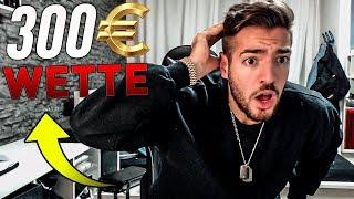 BEEF mit Fifagaming.. die 300€ WETTE im FIFA 18 Squad Builder Battle!