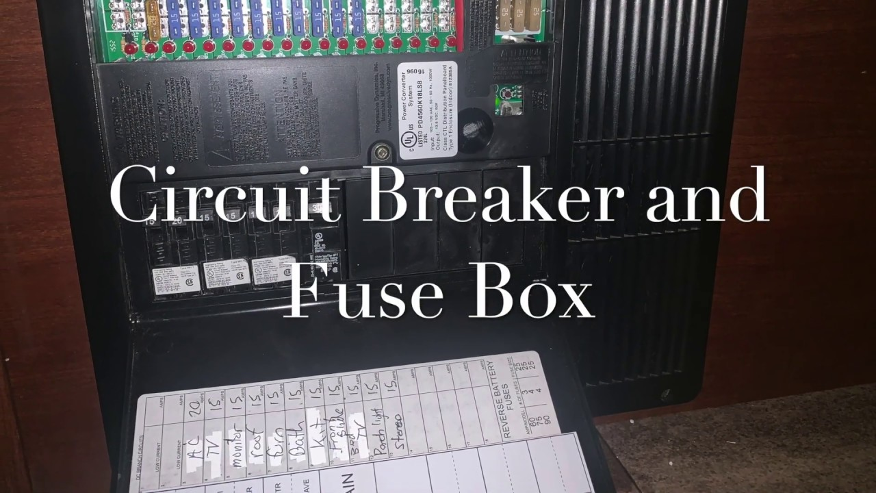 Circuit Breaker and Fuse Box on the Forest River Forester 3011DS - YouTubeYouTube