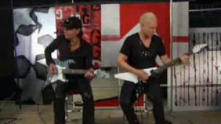 Video Scorpions - Jabs & Schenker Guitar Lesson Part 2 (No One Like You + Rock you like a Hurricane) download MP3, 3GP, MP4, WEBM, AVI, FLV April 2018