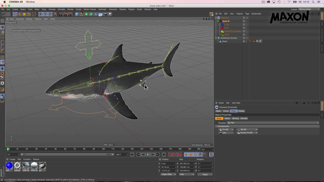Webinar Character Animation In Cinema 4D