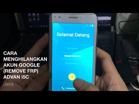 Remove akun (FRP) Advan s50 4G LTE.