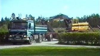 Lastbilstrafikant Börje Vikström 1993 / Larsmo När-TV