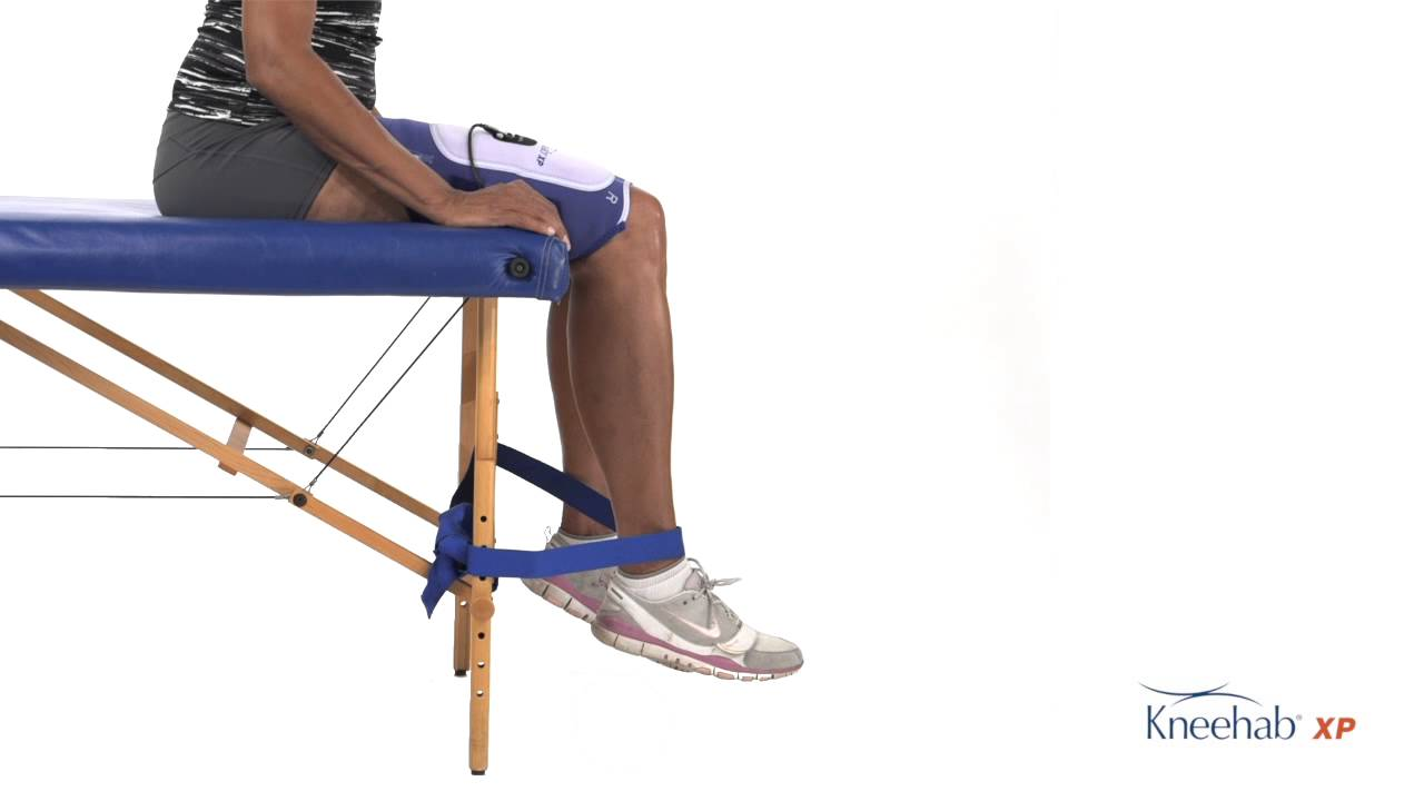 Quadriceps Strengthening with Flexed Knees (Non Weight Bearing ...