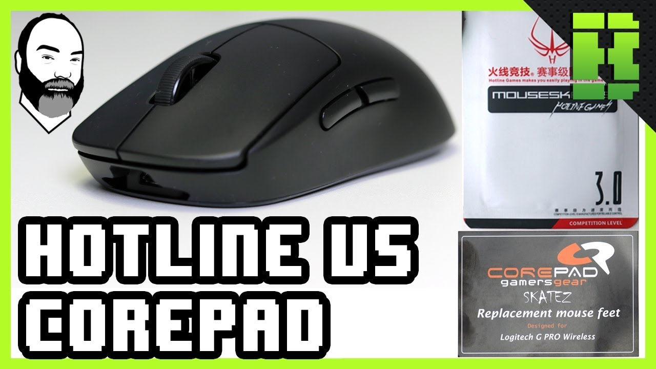 Corepad Skatez G Pro Wireless Logitech Gaming Mouse Feet Replacement Mods