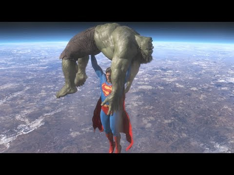 Superman vs Hulk - The Fight (Part 4) thumbnail