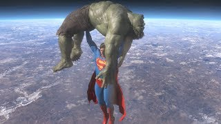Video Superman vs Hulk - The Fight (Part 4) download MP3, 3GP, MP4, WEBM, AVI, FLV September 2018